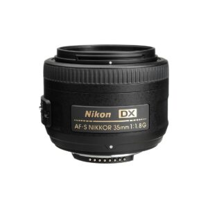 Recommended Lenses for the Nikon D3400 - Nikon 35mm f/1.8 DX